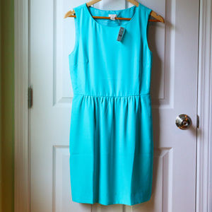 J.Crew Aqua Sleeveless Dress